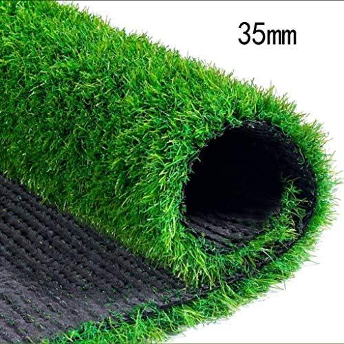 XEWNEG 屋外人工芝、暗号化された庭の快適で柔らかい合成カーペットマット、杭の高さ35 mm (Size : 2x3M)