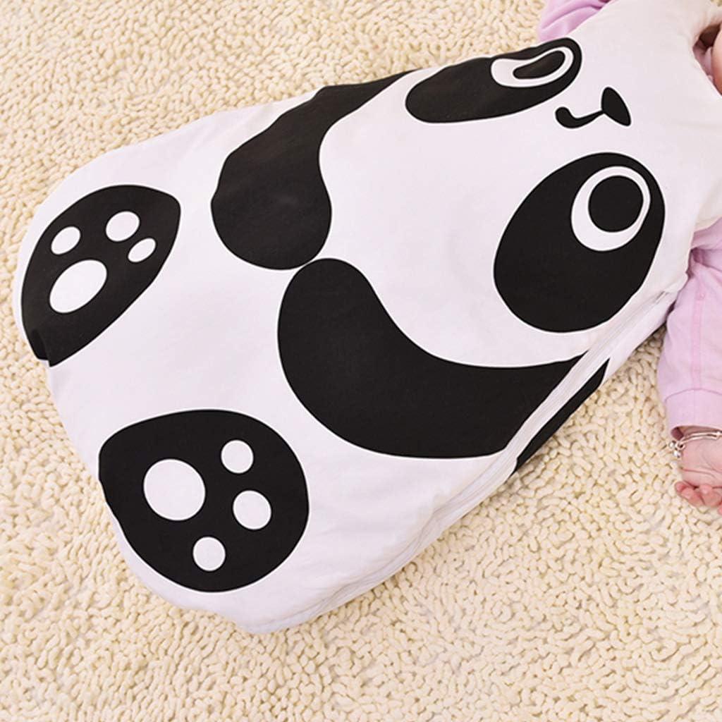 Beb/é Saco de dormir 2.5 Tog Invierno Envolver Manta de Beb/é Animal Dise/ño para Ni/ños 0-24 Meses