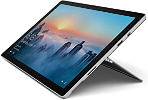 "2017 Microsoft Surface Pro 4 12.3"" Laptop/Tablet (2.2 GHz Intel Core M3, 4GB RAM, 128 GB SSD, Windows 10 Pro), Silver (Renewed)"
