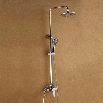 ssby alambre de cobre Dibujo 3 ajustable ducha, ducha, Bañera o ducha, grifo