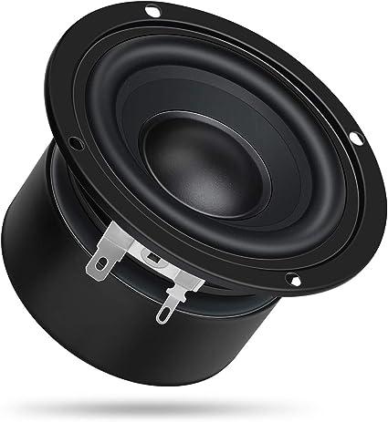 DROK 9 Inches 9 Ohm Full-Range Stereo Audio Speakers, 90W Portable HiFi  Speakers DIY Loudspeaker Woofer for Desktop Computer Car Auto Motor  Motorcycle