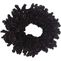 Cogongrass Volumising Rubber Scrunchie Big Hair Tie Ring Hijab Volumizer Headwear
