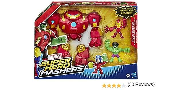 Hasbro Marvel Avengers Super Hero Mashers – Figura de Marvel, Hero Mashers Mash Pack, modelos surtidos, 1 unidad: Amazon.es: Juguetes y juegos
