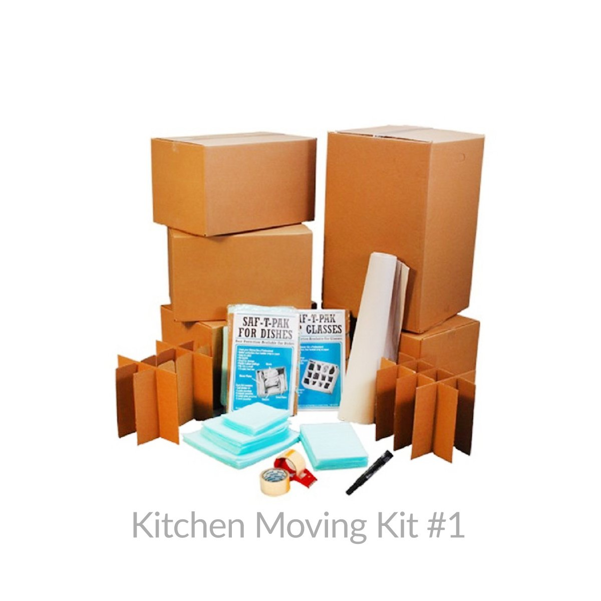 amazon com uboxes kitchen moving box supplies kit 1 4 boxes amazon com uboxes kitchen moving box supplies kit 1 4 boxes dish glass inserts box mailers office products