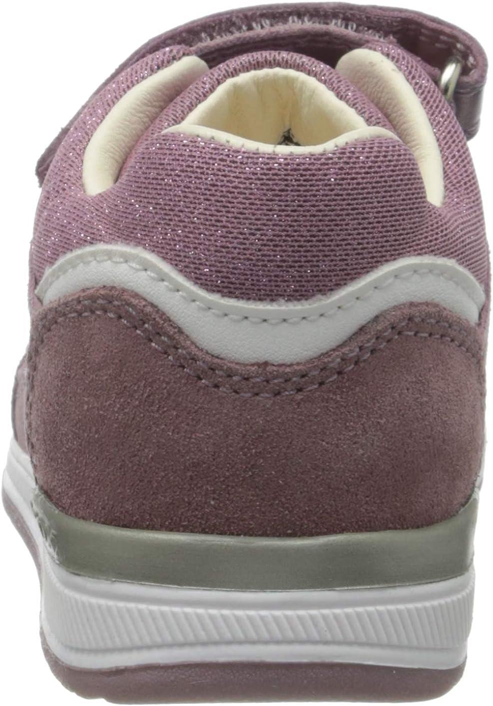 Sneakers Basses B/éb/é Fille 18 EU White//Silver C0007 Blanc Geox B RISHON Girl A