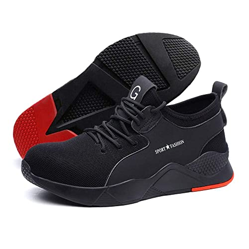 lightweight composite toe work shoes