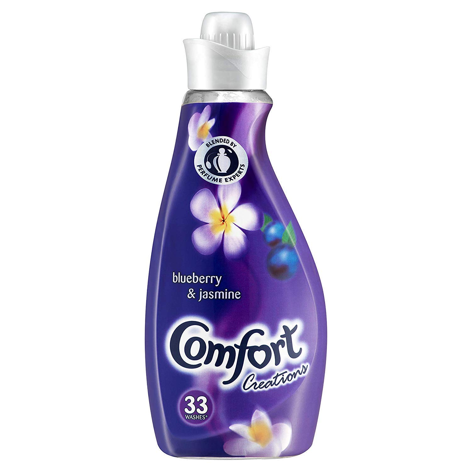 Comfort Creations Blueberry & Jasmine Fabric Conditioners (33w) 1.16L, Pack of 6