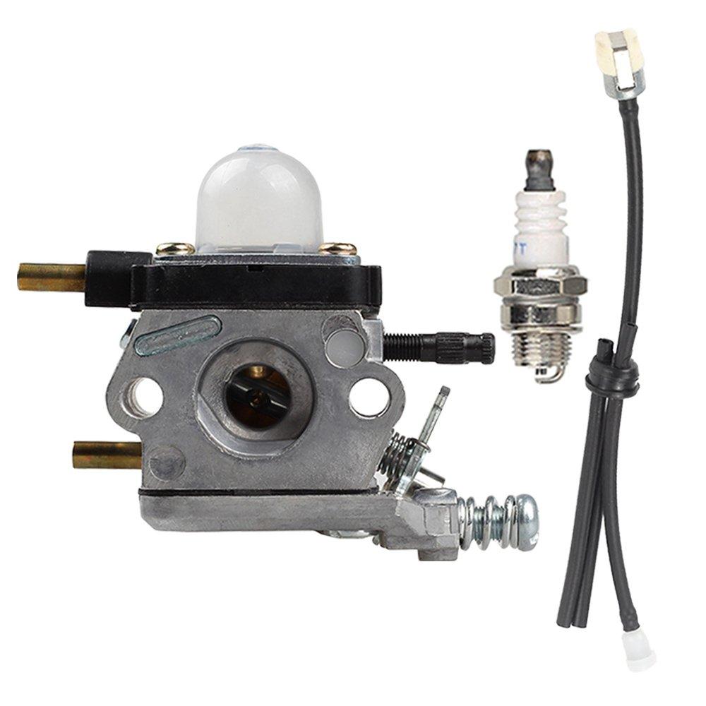 Hilom C1U-K54A Carburetor Repower Kit for Tillers Echo 2 Cycle Mantis 7222 7222E 7222M 7225 7230 7234 7240 7920 7924 Tiller / Cultivator TC-210 TC-210i TC-2100 SV-6 SV-5H/2 SV-5C SV-4B LHD-1700