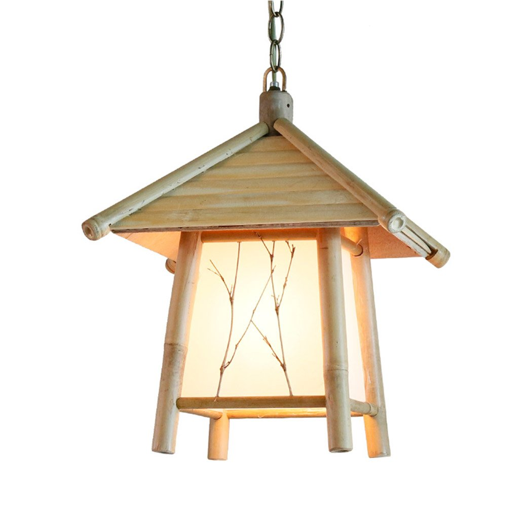 Amazon.com: PRX Southeast Asian antique minimalist bamboo art small  chandelier Japanese-style bed and breakfast engineering Zen Zen  chandeliers: Home & ...