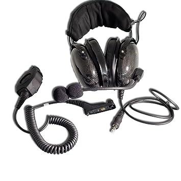 On-Ear Headset (Auriculares con micrófono) para Motorola mtp850s y DP4000 de serie: Amazon.es: Electrónica