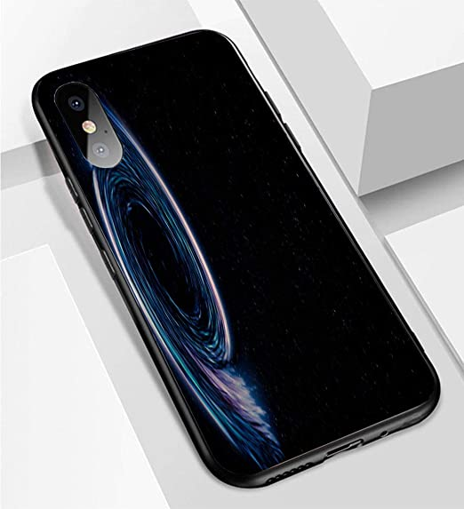 Amazon Com Iphone X Xs Ultra Thin Phone Case Black Hole In
