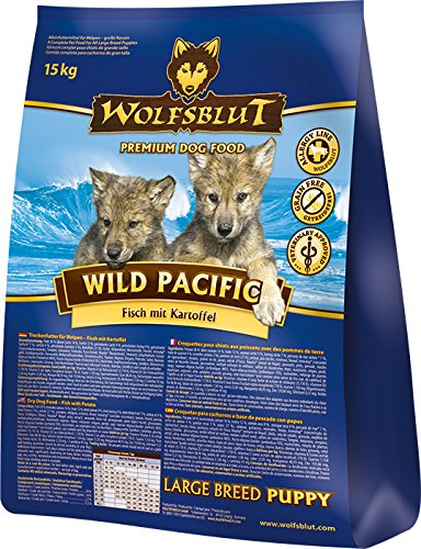 Wolf sangre Wild Pacific Puppy Large, 1er Pack (1 x 2 kg)