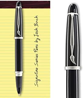 product image for Josh Bach Mens Art Rollerball Gift Pen with Paintbrush Clip