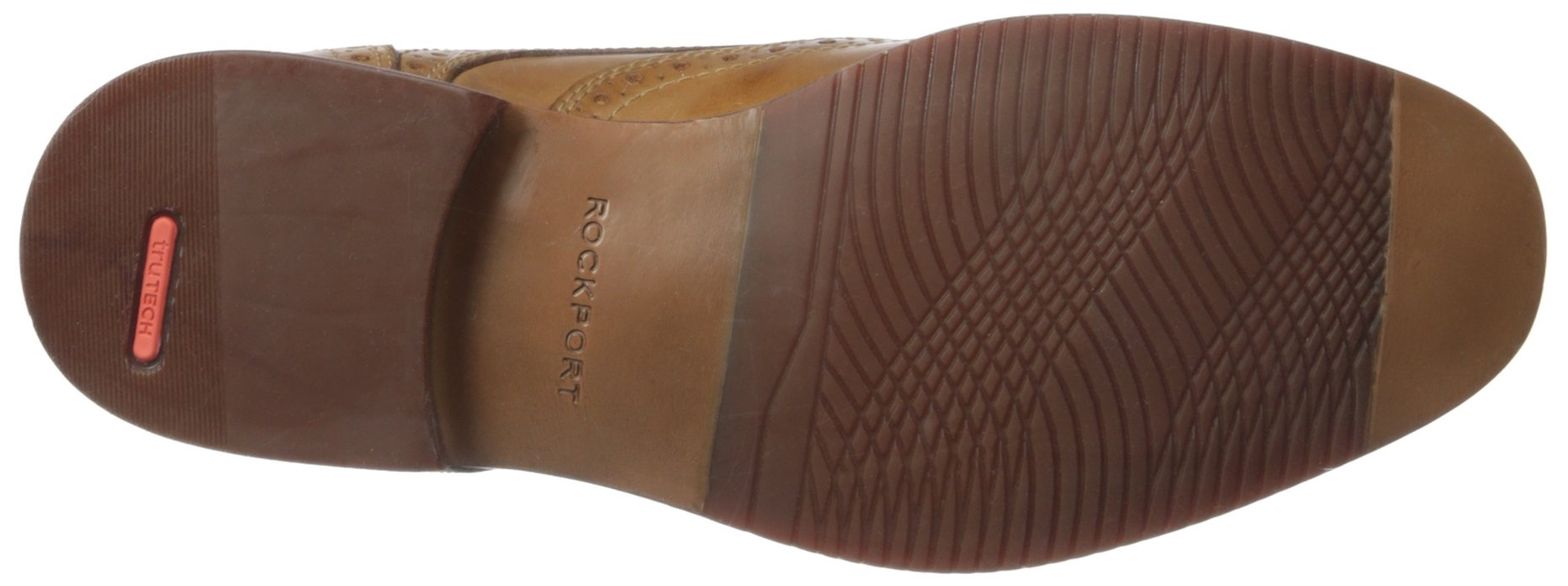 Rockport Men's Style Purpose Wing Tip Tan- 6.5 2w Us-6.5 W by Rockport (Image #3)