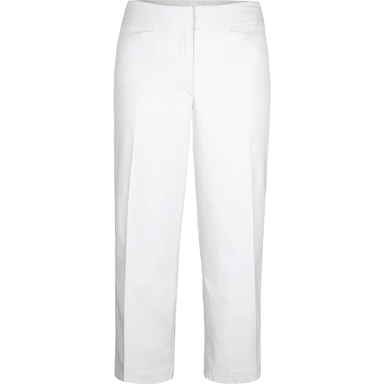 Tailレディースクラシックcapri-pants 16x ホワイト B01DQ3LVNC
