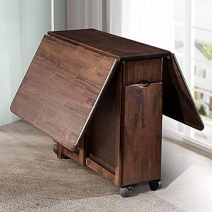 Amazon.com: QJJML Juego de mesa y silla plegable para ...
