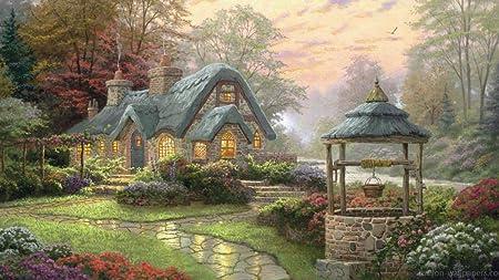 rompecabezas 1000 piezas parques jardin casa arbol Decoración del hogar para niño adulto 1000 piezas: Amazon.es: Hogar