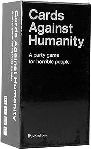 QLGRXWL Cards Against Humanity Adult Party People Juegos De Fiesta para Adolescentes - Card Games for Edition UK (17 Años +)