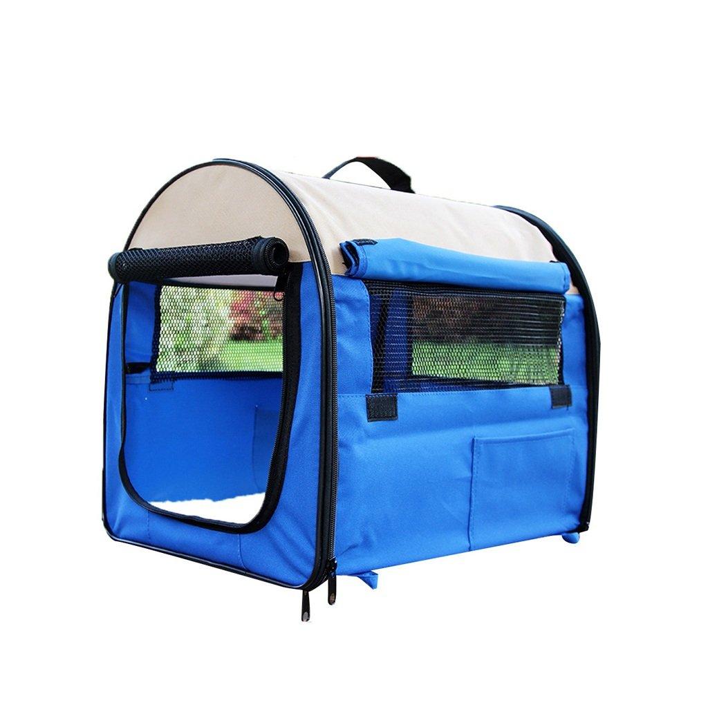 ペットの部屋犬のテント外のテント小型、中型、大型犬、ペット犬小屋 (色 : 緑, サイズ さいず : Xl xl) B07R89G683 青 M m M m|青
