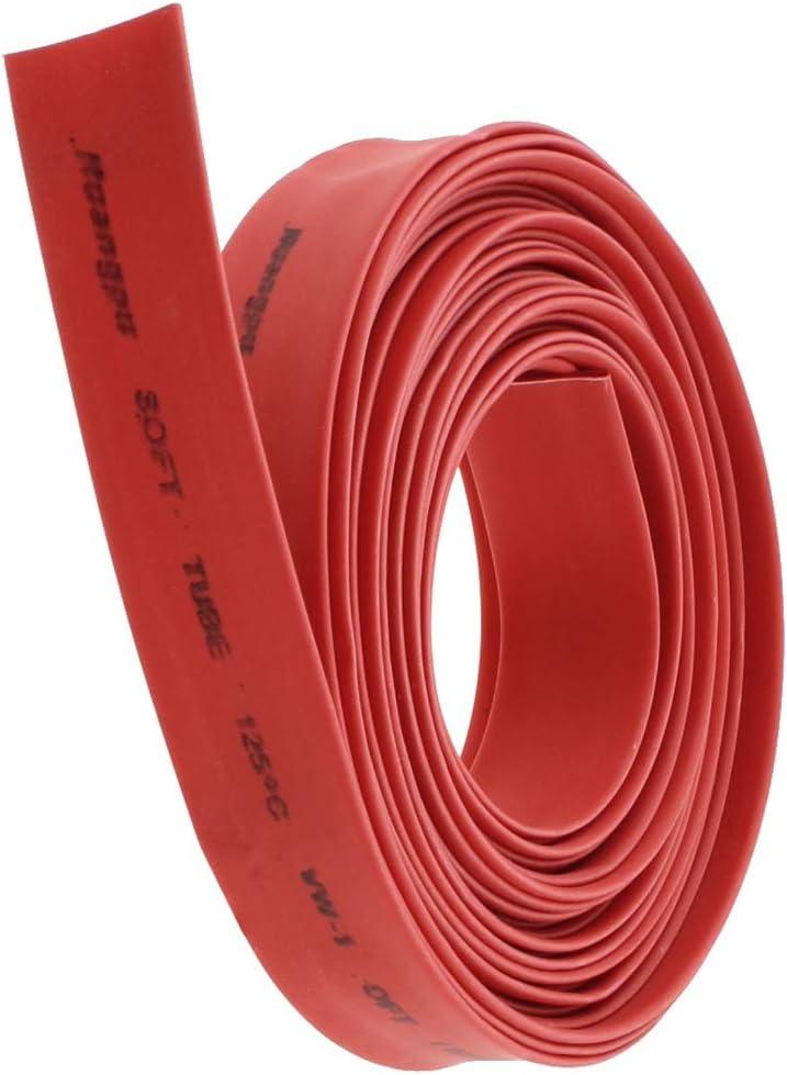 Cable Manga 5M model: F8131IXII-2568GK 2: 1 Tubo termorretr/áctil Tubo Envoltura de cable Aexit Rojo 10mm Di/ám