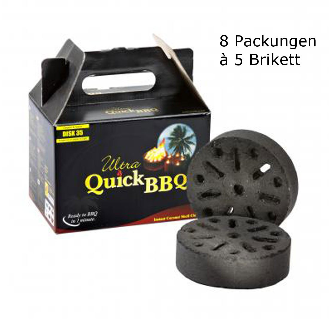 Cobb Scandinavia Quick BQQ Briketts (40 Briketts)