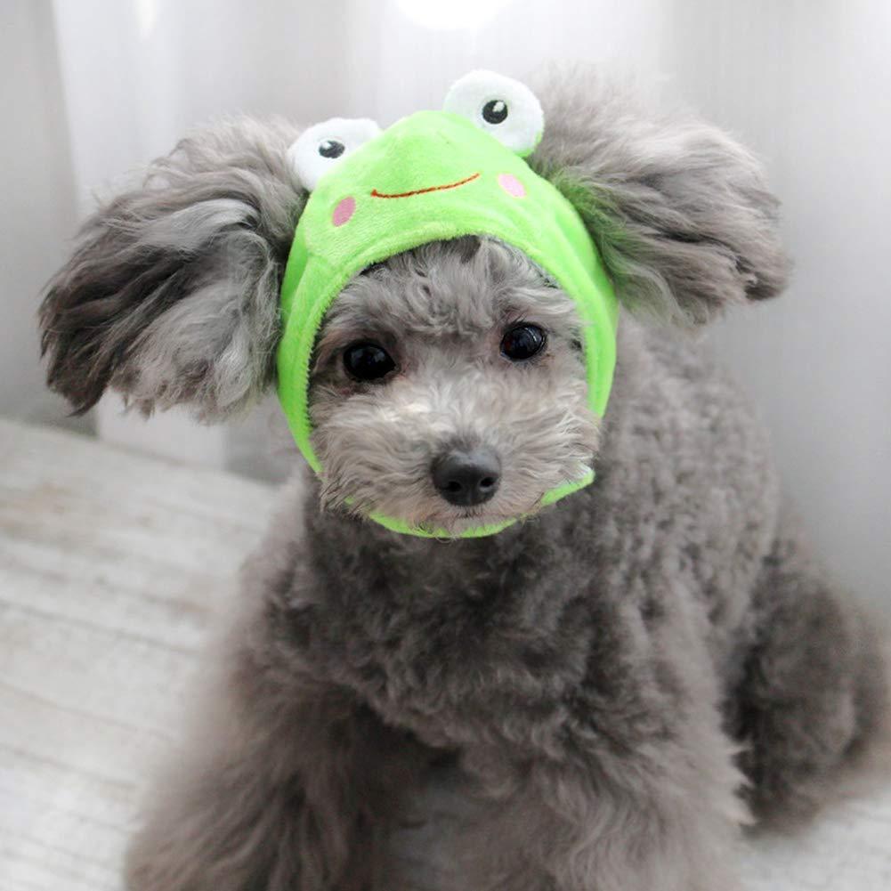 Yevison Zoo Change Cap Headgear Hat Teddy Pet Dog Personality Cute Hat