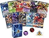 Pokemon ULTRA Rare Lot - Random 5 Cards ALL ULTRA RARE! 2 GX 3 EX! 1 Coin! Includes Golden Groundhog Box!
