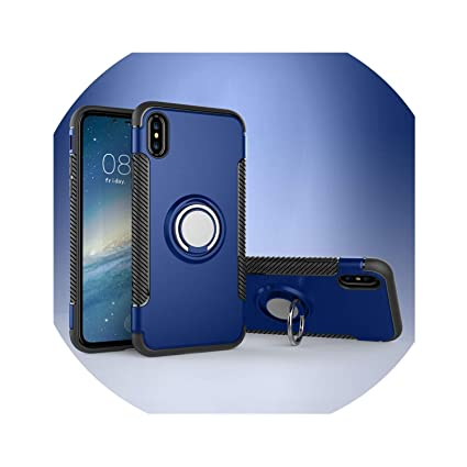Amazon.com: Funda magnética de lujo para iPhone 6, S, 6S, 7 ...