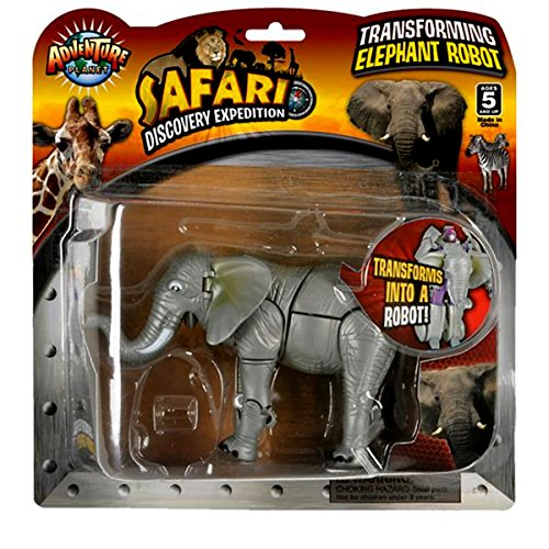 Action Planet Robot - Transforming Elephant to Robot Toy ~ 5