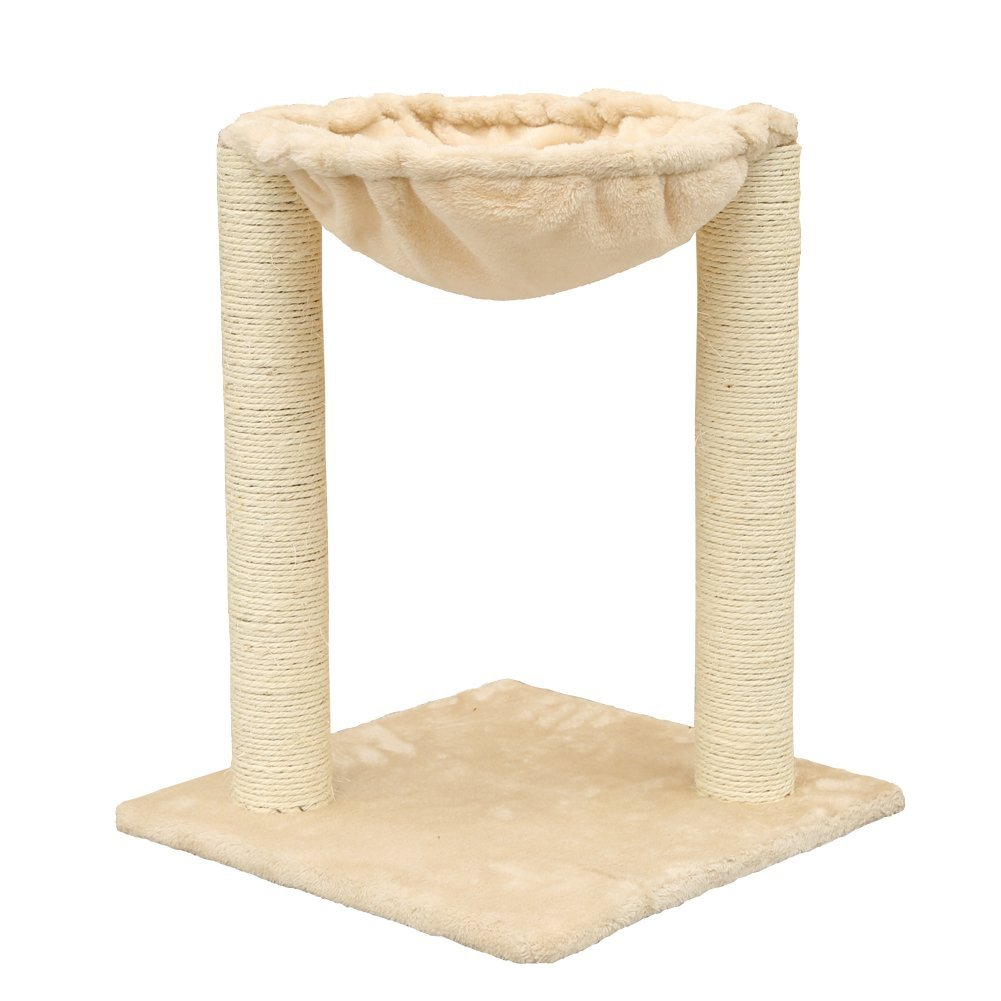 20-Inch Pet Bed Cat Tree Scratching Post by Outdoor Sunshine