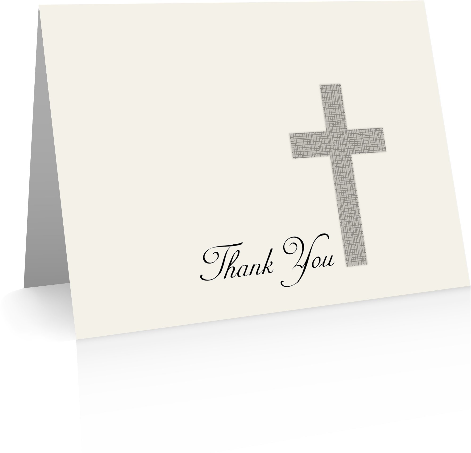 Christian Thank You Cards (24 Foldover Cards and Envelopes) Christian Cards