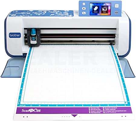 Brother 4977766733328 - Scancut cm840-plotter de Corte con escáner ...
