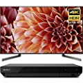 "Sony Bravia XBR85X900F 85"" 4K HDR HLG Triluminos Android LCD TV with Google Assistant 3840x2160 & Sony UBPX700 Ultra HD BluRay Player with Dolby Vision"