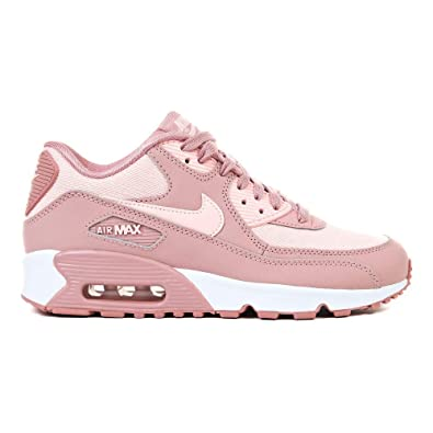 plus récent 37250 78cbd Nike Air Max 90 Se Mesh (GS), Sneakers Basses Femme