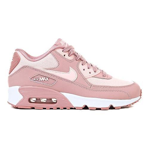 online retailer bbc7e 371f0 Nike Air MAX 90 Se Mesh (GS), Zapatillas para Mujer, (Rust Storm Pink/Guava  Ice/White 001), 40 EU: Amazon.es: Zapatos y complementos