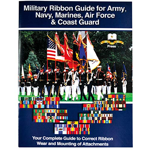 Medals of America Military Ribbon Guide for Army, Navy, Marines, Air Force, and Coast Guard Multicolored (Army Awards And Ribbons Order Of Precedence)