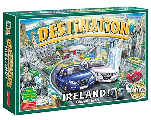 Irish Game - Destination Ireland! 10th Anniversary Edition Board Game