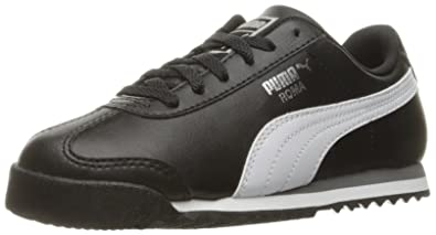 fbaed67782b0 PUMA 36159401 Running Shoe Black White Silver