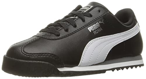 f7355ab4f1a27 Image Unavailable. Image not available for. Colour  PUMA Roma Basic PS Boys  Toddler-Youth Running Puma Black-Puma White-Puma