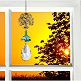 Woodstock Chimes Crystal Fantasy 11 in. Tree of Life Chime