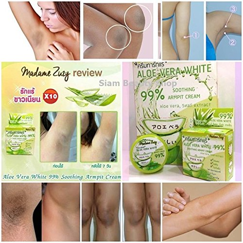 Underarm Lightening & Brightening Deodorant Cream - Armpit Whitening, Milk of Magnesia 24 hr Deodorant, and Clay Power Detox 5 G. (Cream Lightening Reviews Skin)