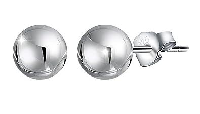 bdc8e33e8502 PAPOLY®Pendientes de bola 10mm