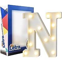 Don Letra - Letras Luminosas Decorativas del Alfabeto A-Z con Luces de LED para Decoración de DIY