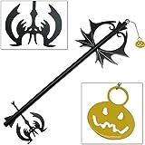 Amazon.com: Kingdom Hearts Oblivion Keyblade Metal Replica Sword ...