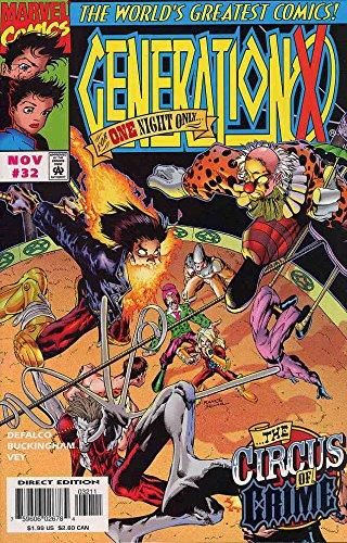 Generation X #32 VF/NM ; Marvel comic book
