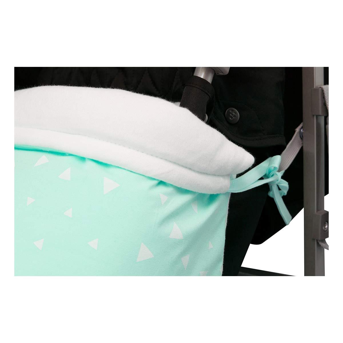 Black Star, Polar Fleece Janabeb/é Universal Baby Blanket Footmuff for Pushchairs