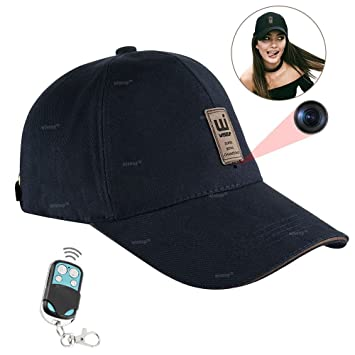 Wiseup 8 GB 1920 x 1080P Cámara Espía béisbol Cap gorra Outdoor sombrero: Amazon.es: Electrónica