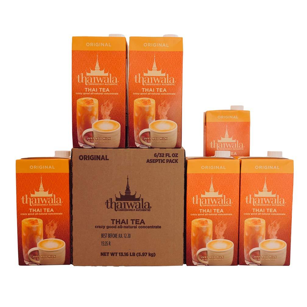 Thaiwala - Natural Thai tea (Case - 6/32 fl oz)