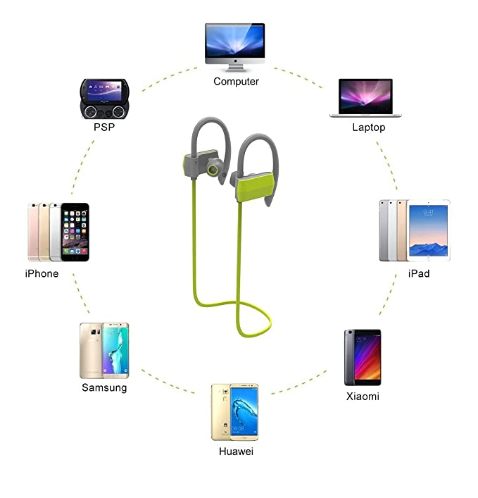 Amazon.com: Auriculares Bluetooth, kavoxii inalámbrico ...