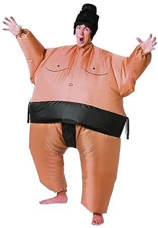 Cesar - Disfraz hinchable de luchador de sumo para hombre ...